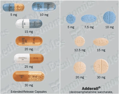 Adderall vs Vyvanse - Comparison - ProgressiveHealth.com
